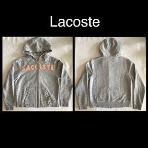 Lacoste zip hoodie nwot